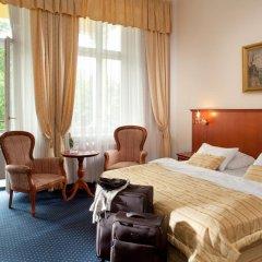 Отель Imperial Spa & Kurhotel Чехия, Франтишкови-Лазне - отзывы, цены и фото номеров - забронировать отель Imperial Spa & Kurhotel онлайн комната для гостей фото 5