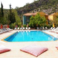 Imparator Турция, Олудениз - 6 отзывов об отеле, цены и фото номеров - забронировать отель Imparator онлайн бассейн фото 2