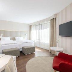 Отель NH Collection Frankfurt City 4* Номер категории Премиум с различными типами кроватей фото 13