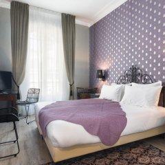 Отель Hôtel Le Grimaldi by Happyculture Франция, Ницца - 6 отзывов об отеле, цены и фото номеров - забронировать отель Hôtel Le Grimaldi by Happyculture онлайн комната для гостей фото 2