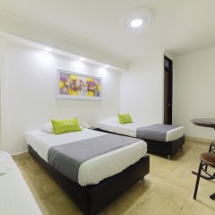 Отель Ayenda 1404 Konfortinn Колумбия, Кали - отзывы, цены и фото номеров - забронировать отель Ayenda 1404 Konfortinn онлайн комната для гостей фото 5