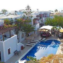 Отель Black Sand Hotel Греция, Остров Санторини - отзывы, цены и фото номеров - забронировать отель Black Sand Hotel онлайн бассейн