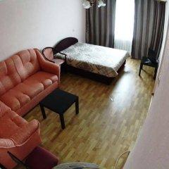 Апартаменты Tikhy Centre Apartments Новосибирск комната для гостей фото 5