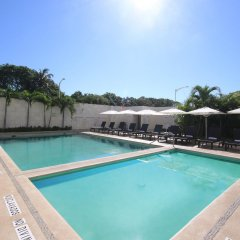 Отель Holiday inn Acapulco La Isla бассейн