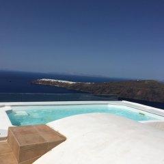 Отель Langas Villas Греция, Остров Санторини - отзывы, цены и фото номеров - забронировать отель Langas Villas онлайн бассейн фото 3