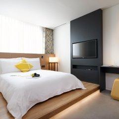 Отель L7 Myeongdong by LOTTE Южная Корея, Сеул - отзывы, цены и фото номеров - забронировать отель L7 Myeongdong by LOTTE онлайн комната для гостей фото 2