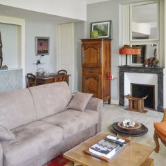 Апартаменты Apartment With 2 Bedrooms in Saumur, With Wonderful City View and Wifi Сомюр комната для гостей фото 4