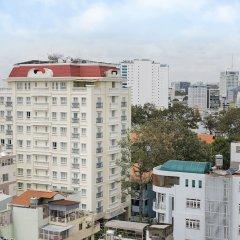 Апартаменты Oakwood Apartments Ho Chi Minh City балкон