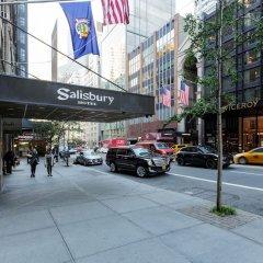 Отель Salisbury Hotel США, Нью-Йорк - 8 отзывов об отеле, цены и фото номеров - забронировать отель Salisbury Hotel онлайн парковка