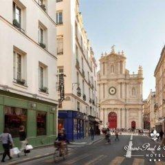 Отель Saint Paul Le Marais Париж фото 3