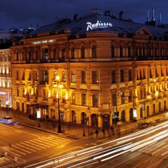 Гостиница Radisson Royal балкон
