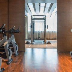 Отель Hilton Dubai Al Habtoor City фитнесс-зал