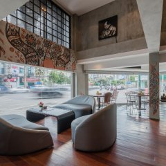Отель Cacha Hotel Таиланд, Бангкок - 1 отзыв об отеле, цены и фото номеров - забронировать отель Cacha Hotel онлайн интерьер отеля
