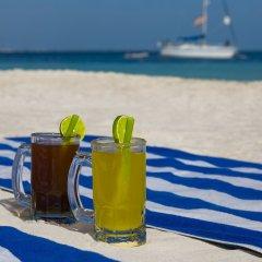 Отель Beachscape Kin Ha Villas & Suites Мексика, Канкун - 2 отзыва об отеле, цены и фото номеров - забронировать отель Beachscape Kin Ha Villas & Suites онлайн ванная фото 2