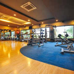 Отель Diamond Bay Resort & Spa фитнесс-зал фото 3