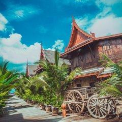Отель Sasitara Thai villas Таиланд, Самуи - отзывы, цены и фото номеров - забронировать отель Sasitara Thai villas онлайн пляж фото 2