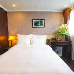 Отель Paloma Cruise Вьетнам, Халонг - отзывы, цены и фото номеров - забронировать отель Paloma Cruise онлайн комната для гостей фото 4