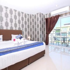 Only Blue Hotel комната для гостей
