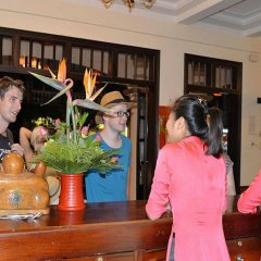 Отель Huy Hoang River Хойан гостиничный бар