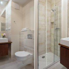Отель Chopin Apartments City Польша, Варшава - отзывы, цены и фото номеров - забронировать отель Chopin Apartments City онлайн ванная