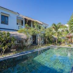 Отель An Bang Garden Homestay бассейн фото 3