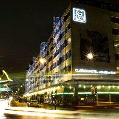 Отель Clarion Hotel Amaranten Швеция, Стокгольм - 2 отзыва об отеле, цены и фото номеров - забронировать отель Clarion Hotel Amaranten онлайн вид на фасад