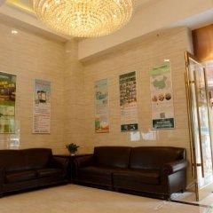 Отель GreenTree Inn ShanXi Xi'An Longshouyuan Metro Station Express Hotel Китай, Сиань - отзывы, цены и фото номеров - забронировать отель GreenTree Inn ShanXi Xi'An Longshouyuan Metro Station Express Hotel онлайн интерьер отеля фото 3