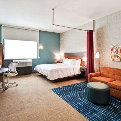 Отель Home2 Suites by Hilton Columbus Downtown США, Колумбус - отзывы, цены и фото номеров - забронировать отель Home2 Suites by Hilton Columbus Downtown онлайн комната для гостей фото 2