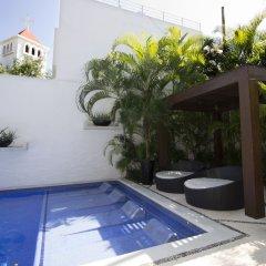 Отель Downtown Apartment Oasis 12 Мексика, Плая-дель-Кармен - отзывы, цены и фото номеров - забронировать отель Downtown Apartment Oasis 12 онлайн бассейн фото 3