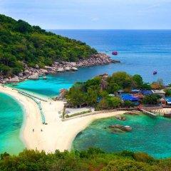 Отель Nangyuan Island Dive Resort Таиланд, о. Нангьян - отзывы, цены и фото номеров - забронировать отель Nangyuan Island Dive Resort онлайн пляж