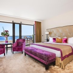 Отель Hyatt Regency Nice Palais de la Méditerranée 5* Улучшенный номер с различными типами кроватей фото 6