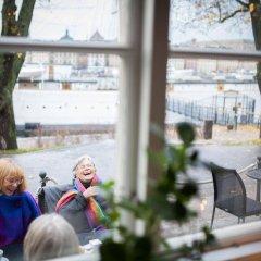 Stf Stockholm/af Chapman & Skeppsholmen Hostel Стокгольм гостиничный бар