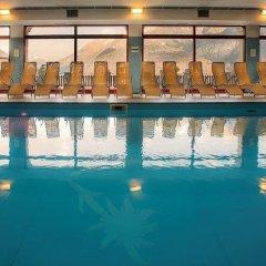 Отель Albergo Edelweiss Вилладоссола бассейн