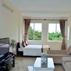 Отель Lam Son Deluxe Apartments Вьетнам, Вунгтау - отзывы, цены и фото номеров - забронировать отель Lam Son Deluxe Apartments онлайн комната для гостей фото 5