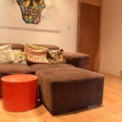 Отель 1 Bedroom Hampstead Flat Лондон комната для гостей