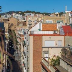 Отель Brummell Apartments Gracia Испания, Барселона - отзывы, цены и фото номеров - забронировать отель Brummell Apartments Gracia онлайн балкон