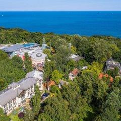 Отель BEST WESTERN Villa Aqua Hotel Польша, Сопот - 2 отзыва об отеле, цены и фото номеров - забронировать отель BEST WESTERN Villa Aqua Hotel онлайн пляж фото 2