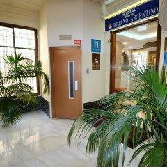 Отель Hostal Hispano - Argentino Испания, Мадрид - 1 отзыв об отеле, цены и фото номеров - забронировать отель Hostal Hispano - Argentino онлайн интерьер отеля