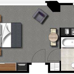 Отель Adina Apartment Hotel Berlin CheckPoint Charlie Германия, Берлин - 4 отзыва об отеле, цены и фото номеров - забронировать отель Adina Apartment Hotel Berlin CheckPoint Charlie онлайн ванная фото 2