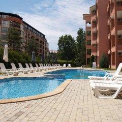Отель Complex Sunflower Болгария, Солнечный берег - отзывы, цены и фото номеров - забронировать отель Complex Sunflower онлайн бассейн фото 3