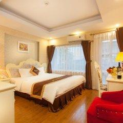 Отель Hanoi Diamond King Ханой комната для гостей