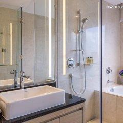 Отель Fraser Suites Guangzhou Китай, Гуанчжоу - отзывы, цены и фото номеров - забронировать отель Fraser Suites Guangzhou онлайн ванная