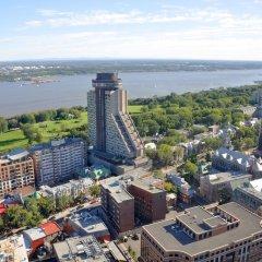 Отель Hôtel Le Concorde Québec Канада, Квебек - отзывы, цены и фото номеров - забронировать отель Hôtel Le Concorde Québec онлайн пляж фото 2