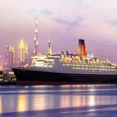 Отель Queen Elizabeth 2 Hotel ОАЭ, Дубай - отзывы, цены и фото номеров - забронировать отель Queen Elizabeth 2 Hotel онлайн пляж фото 2