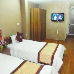 Отель Hanoi Sky View Hotel Вьетнам, Ханой - отзывы, цены и фото номеров - забронировать отель Hanoi Sky View Hotel онлайн комната для гостей фото 4