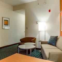 Отель Fairfield Inn And Suites By Marriott Lake City Лейк-Сити комната для гостей фото 5