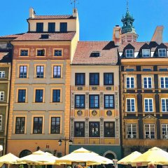Отель Luxury Apartments MONDRIAN Market Square Польша, Варшава - отзывы, цены и фото номеров - забронировать отель Luxury Apartments MONDRIAN Market Square онлайн вид на фасад