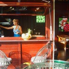 Отель Robinson's Cove Villas Французская Полинезия, Муреа - отзывы, цены и фото номеров - забронировать отель Robinson's Cove Villas онлайн интерьер отеля