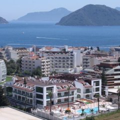 Forum Residence Hotel пляж