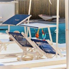 Отель Eurhotel Италия, Римини - отзывы, цены и фото номеров - забронировать отель Eurhotel онлайн пляж фото 2